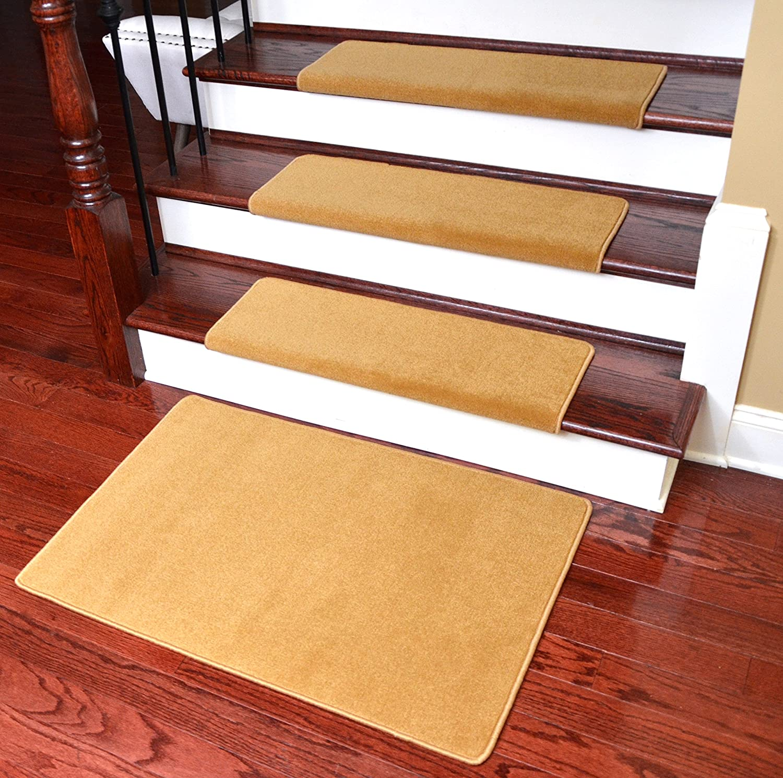 "15 Urban Legend Brown 30/""W DIY Peel /& Stick Bullnose Wraparound Stair Treads"
