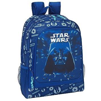 "Safta Mochila Escolar Star Wars ""Neon"" Oficial 320x140x420mm"