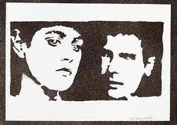 Blade Runner Rachael And Rick Poster Handmade Graffiti Street Art - Artwork