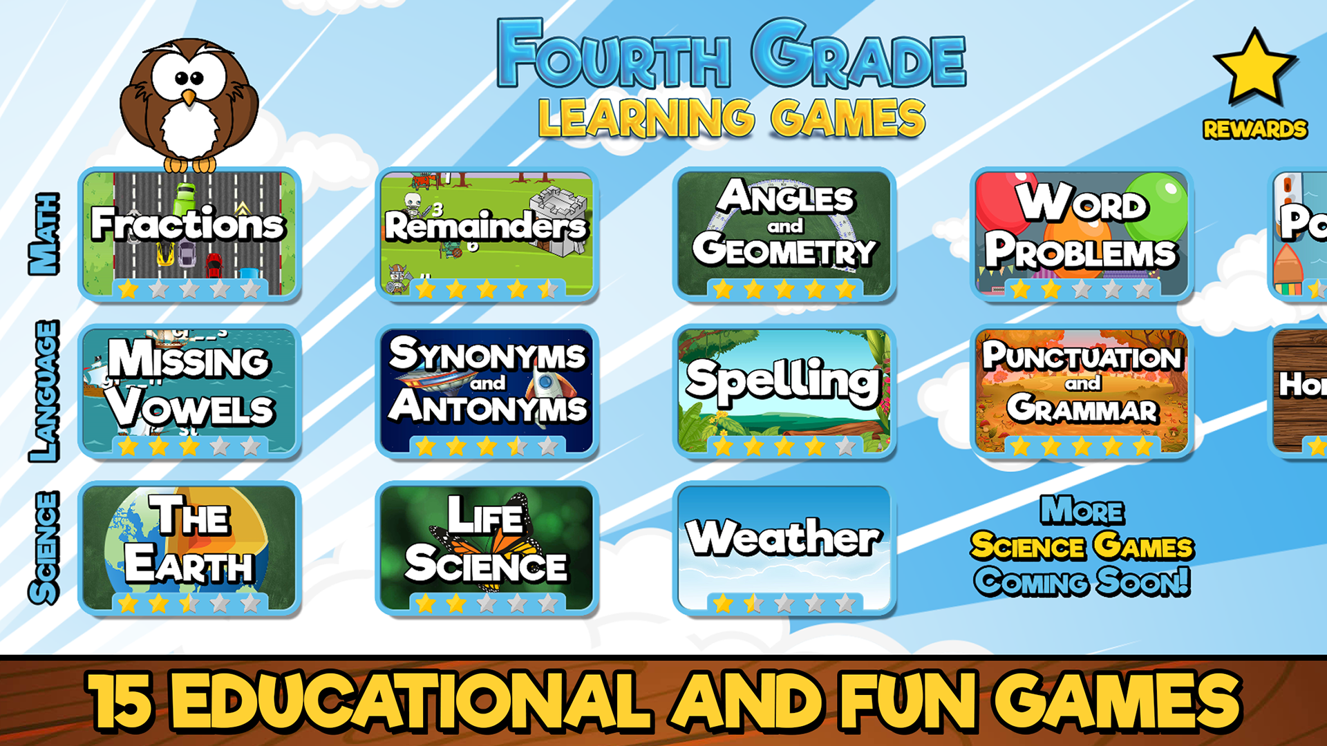 Amazon.com: Fourth Grade Learning Games Free: Appstore for Android