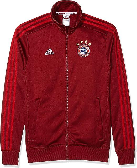 adidas Chaqueta de chándal para Hombre FC Bayern München: Amazon.es: Deportes y aire libre
