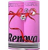 Renova Red Label Toilet Paper Fucsia (6 rolls)