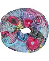 Mevina Schlauchschal Loop mit Retro Vintage Print in vielen Farben T2054