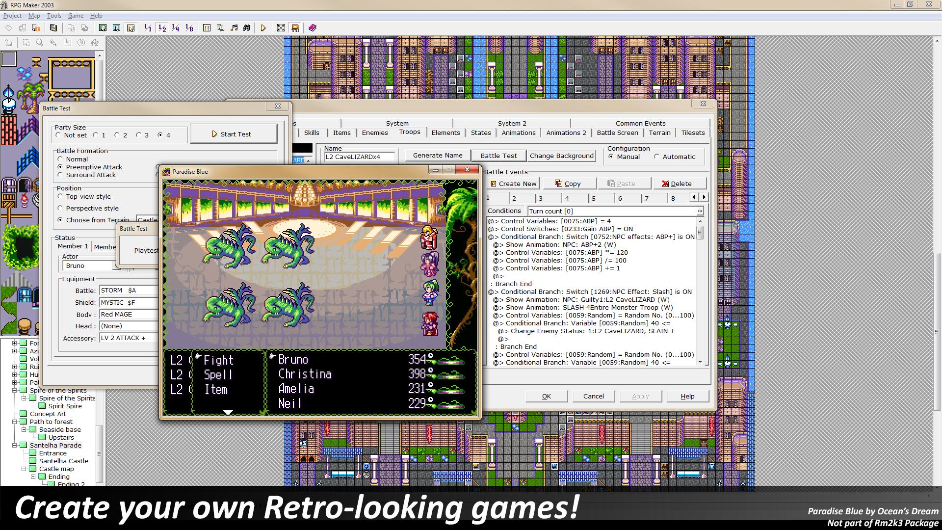 Amazon RPG Maker 2003 [ line Code] Software