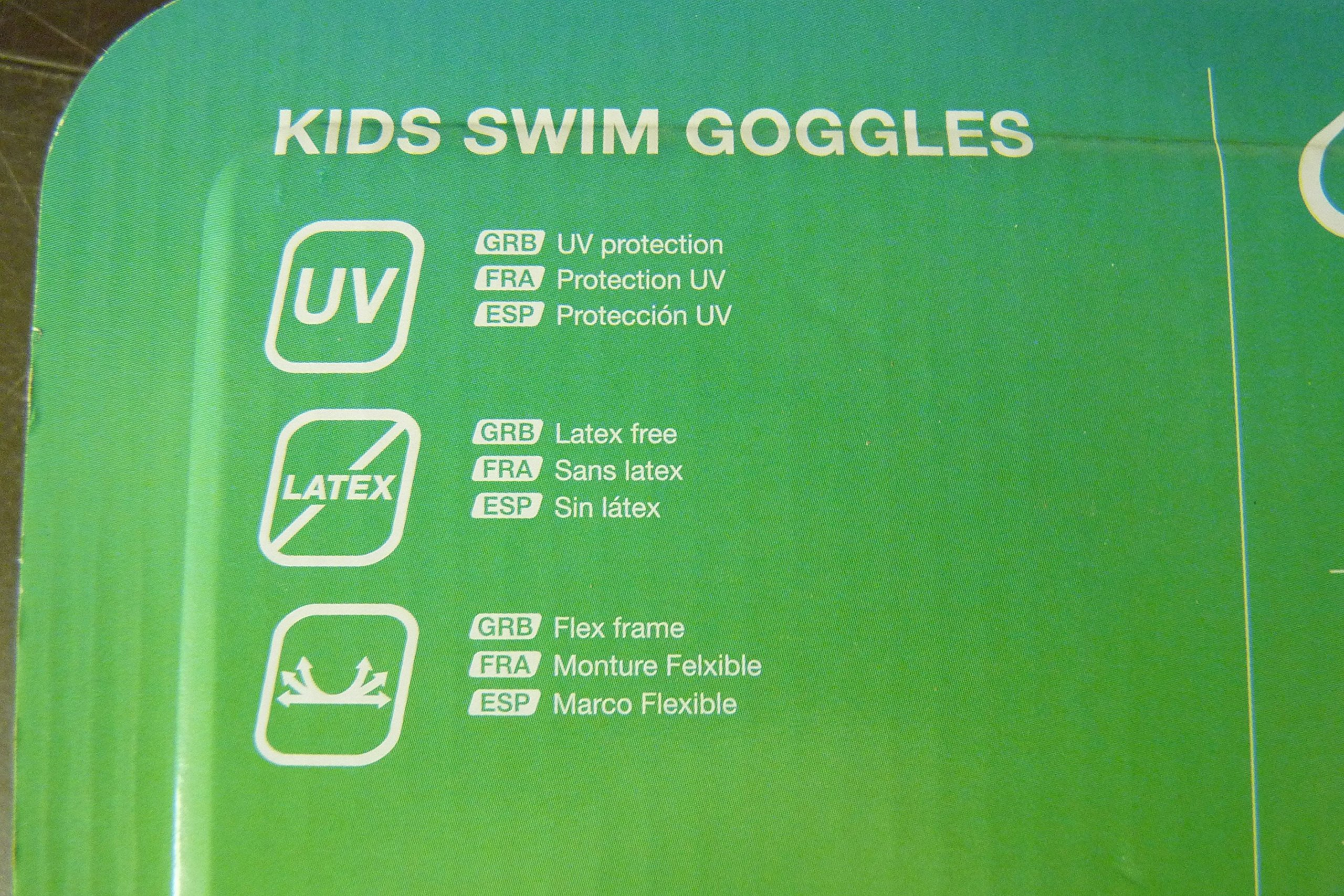 Speedo Fun Prints Kids swim goggles 3 pack
