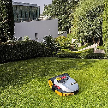 Worx wr095s País roid Césped de robot cortacésped S Basic hasta 300 m², 38 W, 240 V, color gris: Amazon.es: Bricolaje y herramientas
