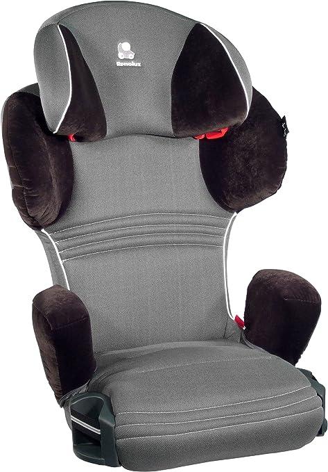 Renolux, Silla de coche grupo 2/3, negro/gris: Amazon.es: Bebé