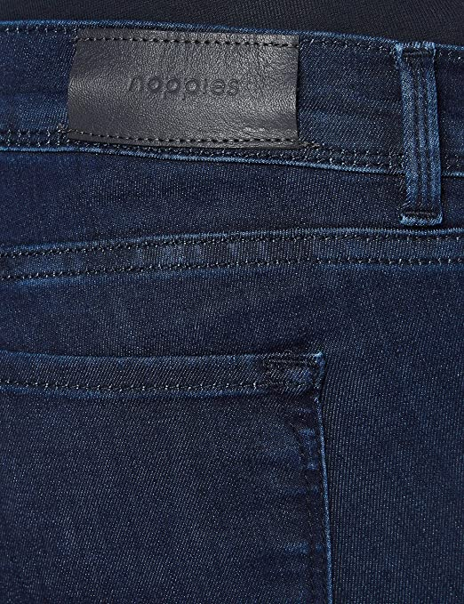 Noppies Damen OTB Skinny Avi Ink Blue Jeans