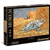 Clementoni - Puzzle de 1000 Piezas, D'Orsay, diseño Van Gogh: La Siesta (392902)