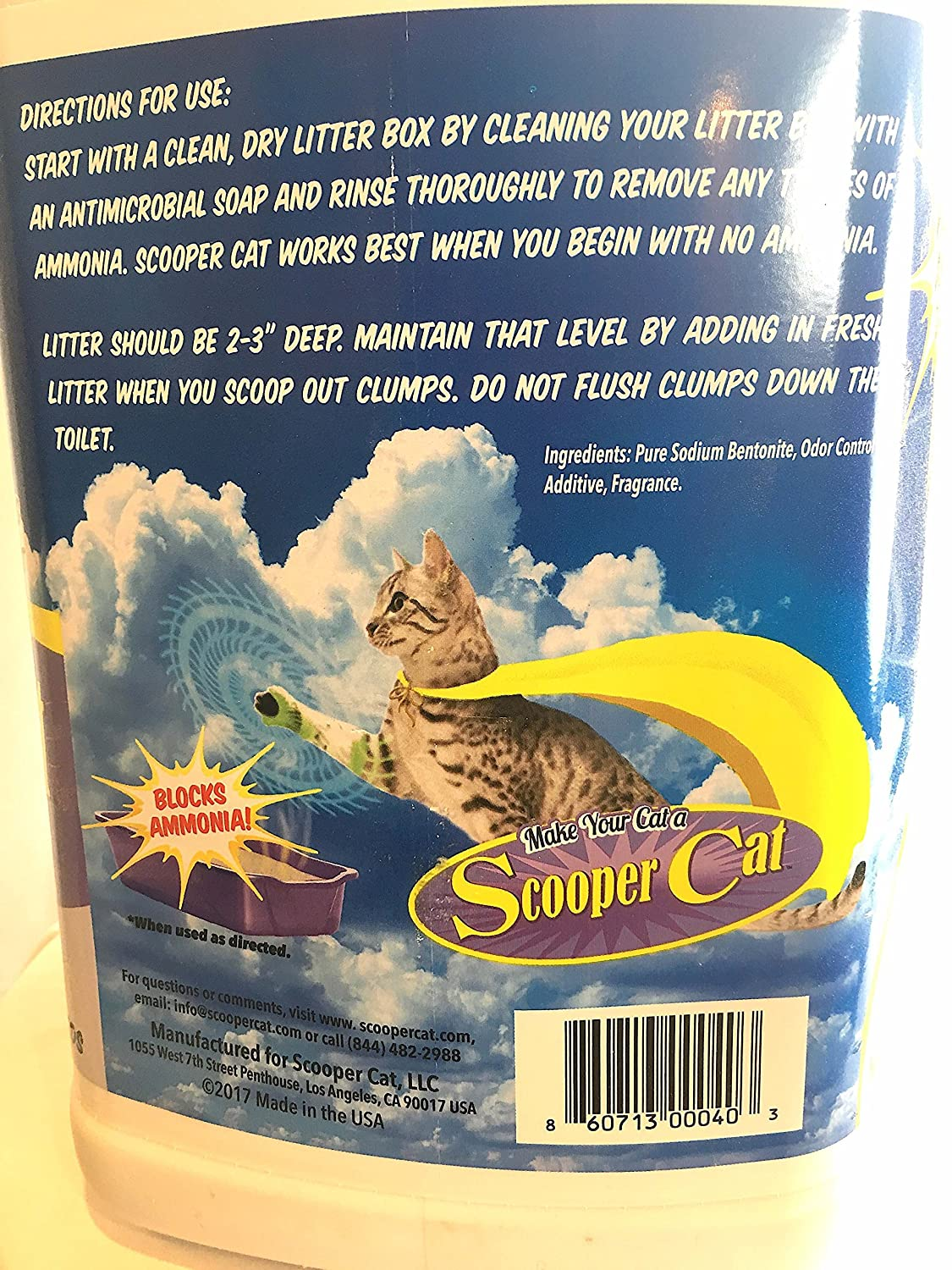 Amazon scooper cat litter with ammonia blockers 20lb jug amazon scooper cat litter with ammonia blockers 20lb jug unscented pet supplies fandeluxe Image collections