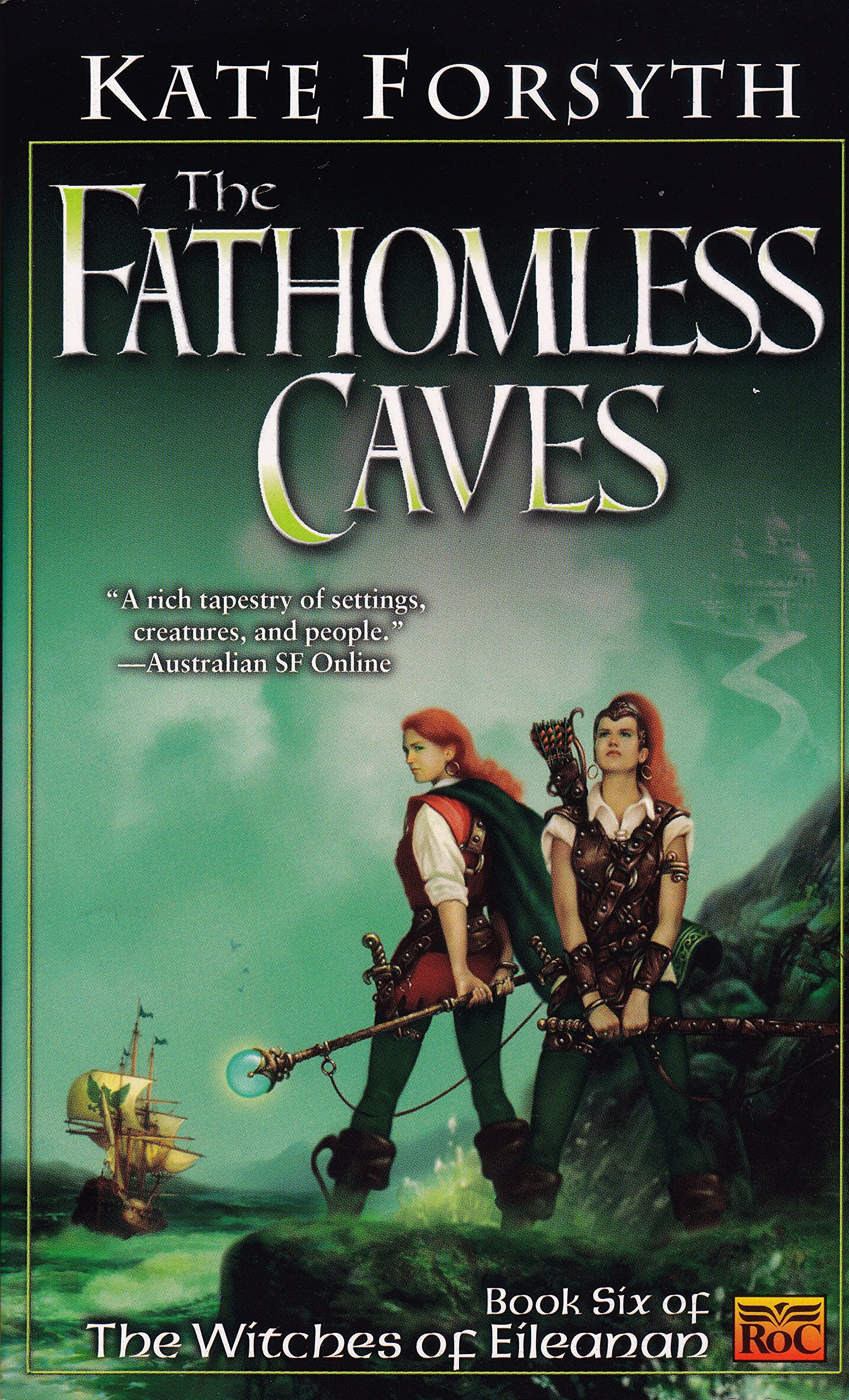 The Fathomless Caves: Book Six of the Witches of Eileanan ebook