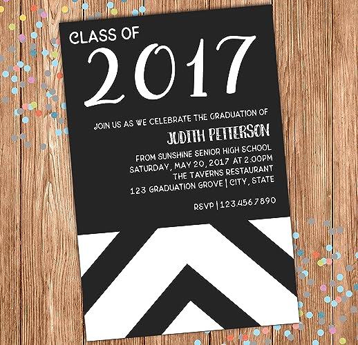 amazon com graduation party invitation graduation announcement