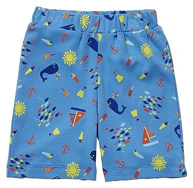54fc46495e6d Piccalilly Organic Cotton Multicoloured Boys Seaside Print Shorts   Amazon.co.uk  Clothing