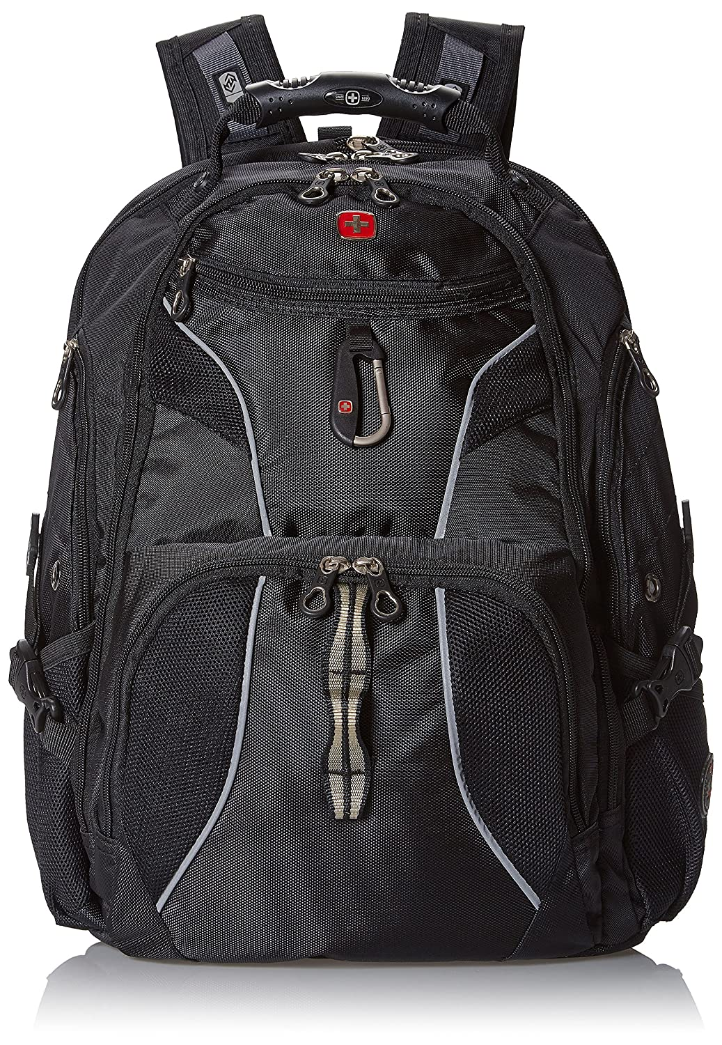 8a895082f7 Amazon.com  Swiss Gear SA1923 Black TSA Friendly ScanSmart Laptop Backpack  - Fits Most 15 Inch Laptops and Tablets  Computers   Accessories