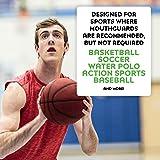 SISU GO Custom Fit Minimalist Sports Mouthguard for Youth/Adults, Hot Pink