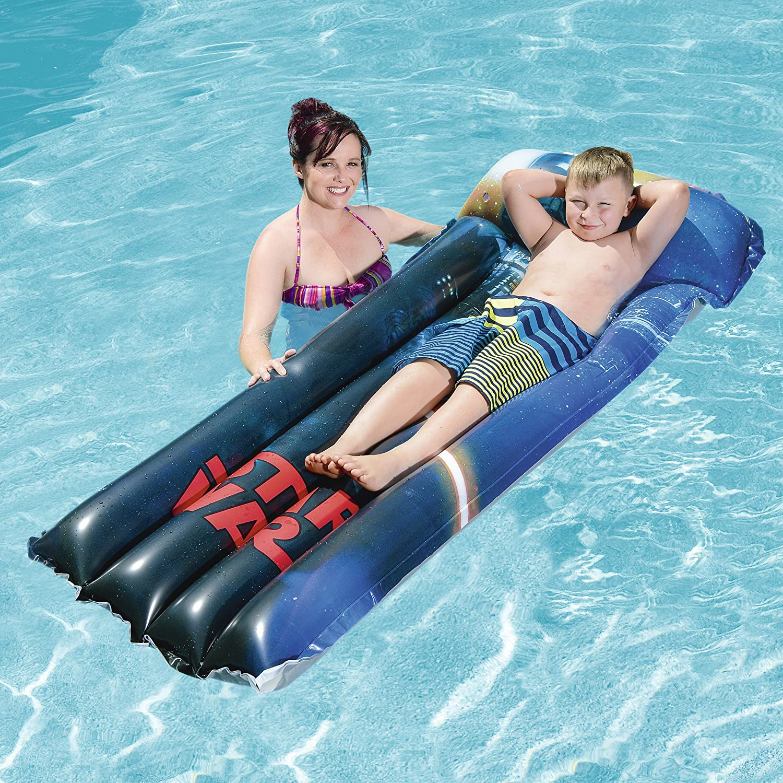 Bestway INFLATABLES Inflatables-6942138931693-B//F Bleu 14733 Matelas Pneu 191X89 Cm Star Wars Gonflable