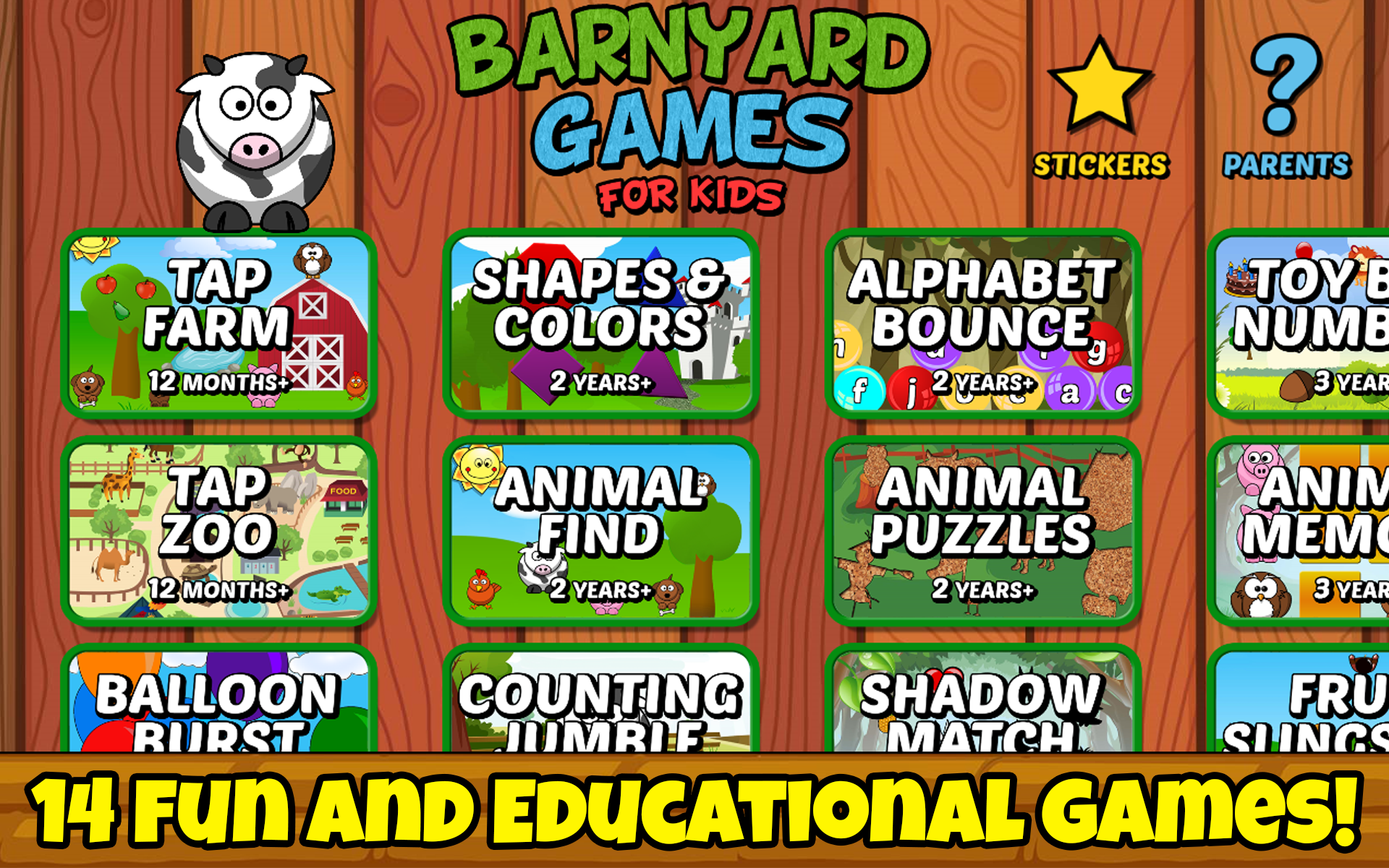 Amazon Barnyard Games For Kids Free Appstore Android