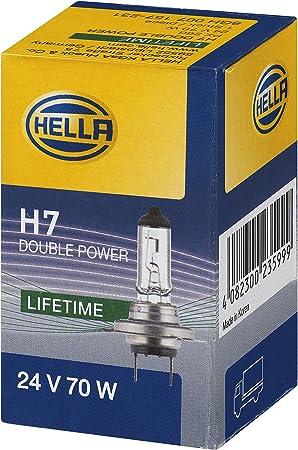Hella 8gh 007 157 231 Glühlampe H7 Heavy Duty Expert Longer Lifetime Vibration Resistant 24v 70w Sockelausführung Px 26 D Schachtel Menge 1 Auto