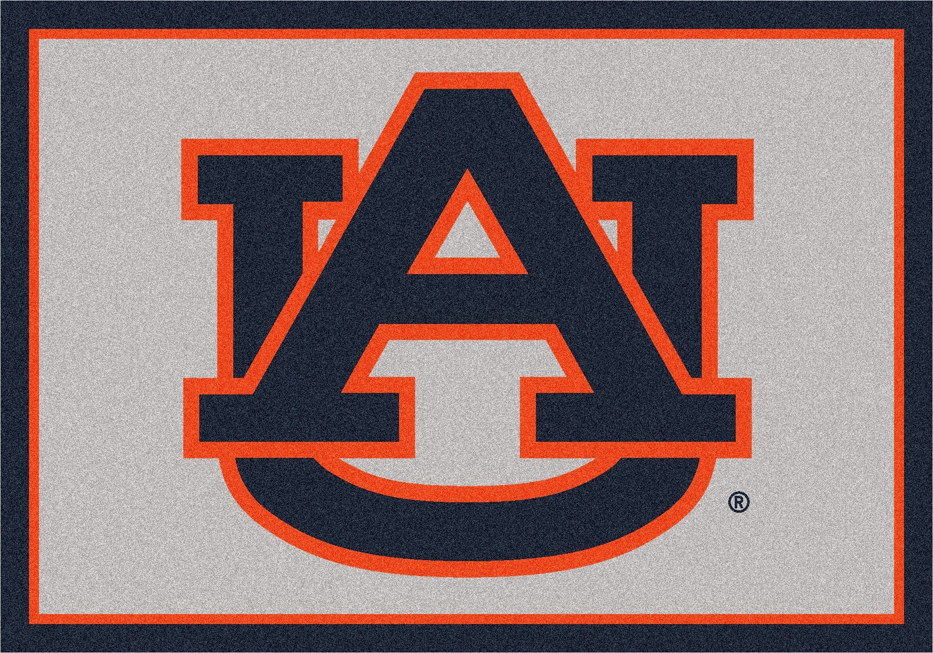 Auburn Tigers NCAA College Team Spirit Team Area Rug 2'8''x3'10''