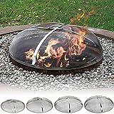 Sunnydaze Stainless Steel Fire Pit Spark