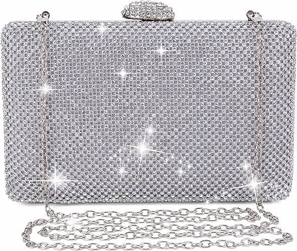 Bolsas De Mujer Diamante Estrás de fiesta noche clutch Billetera Monedero De Boda De Cristal