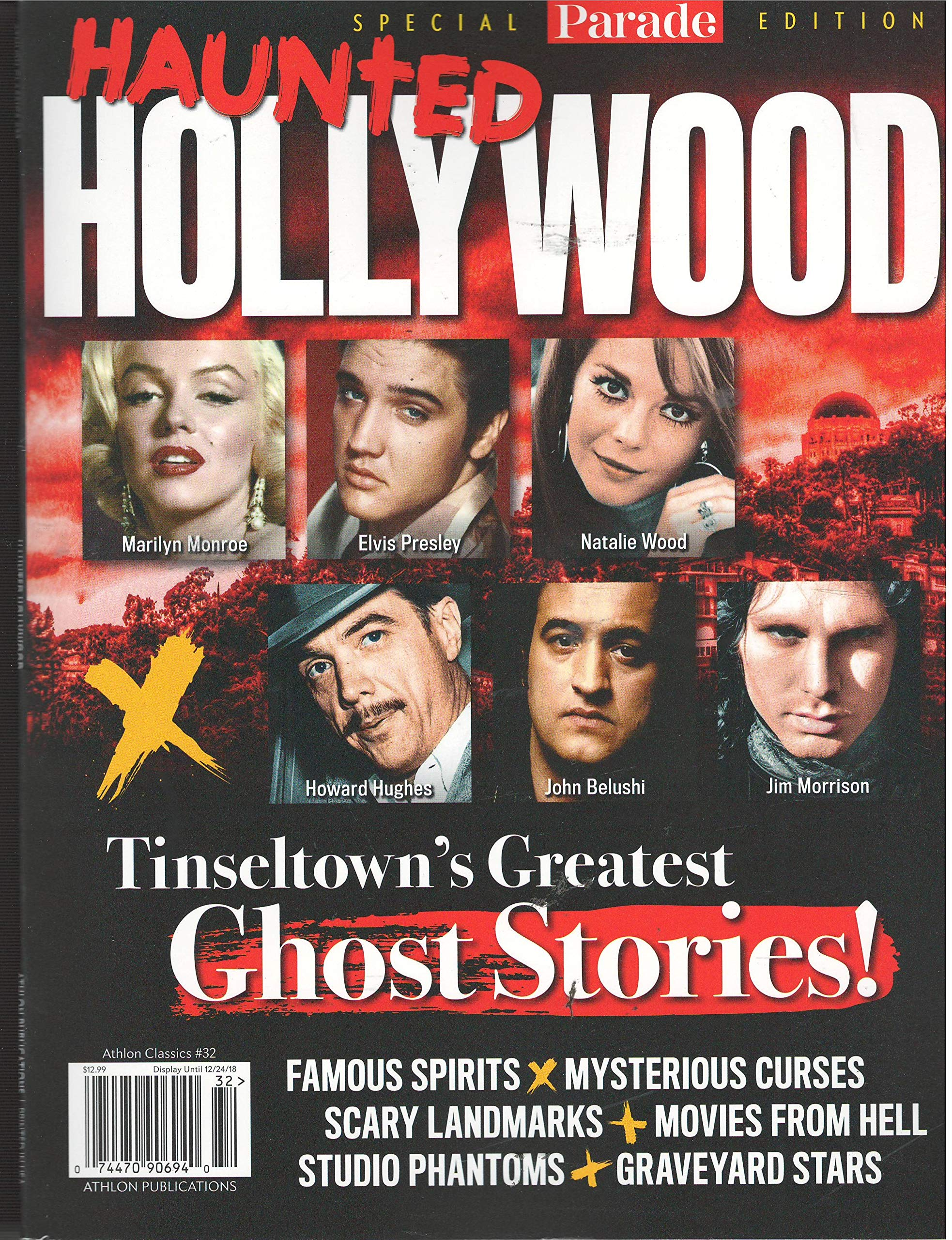 Parade Special edition Haunted Hollywood Magazine #32 2018: Various