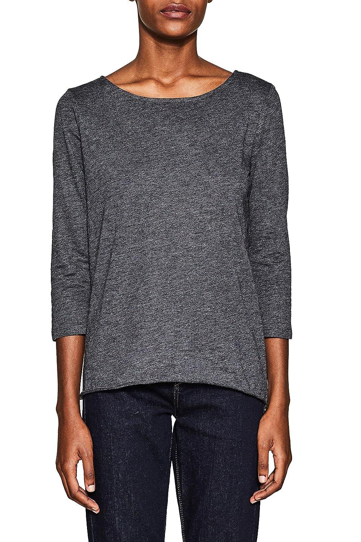 TALLA L. Esprit Camisa Manga Larga para Mujer