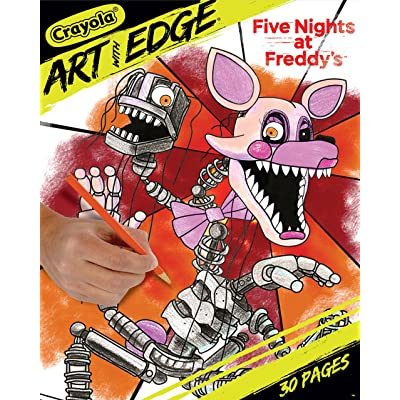 Crayola Five Nights at Freddy's Coloring Pages, Adult Coloring, 30 Count: Toys & Games