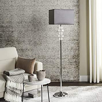 Safavieh Lighting Collection Times Square Clear 60.25 Inch Floor Lamp