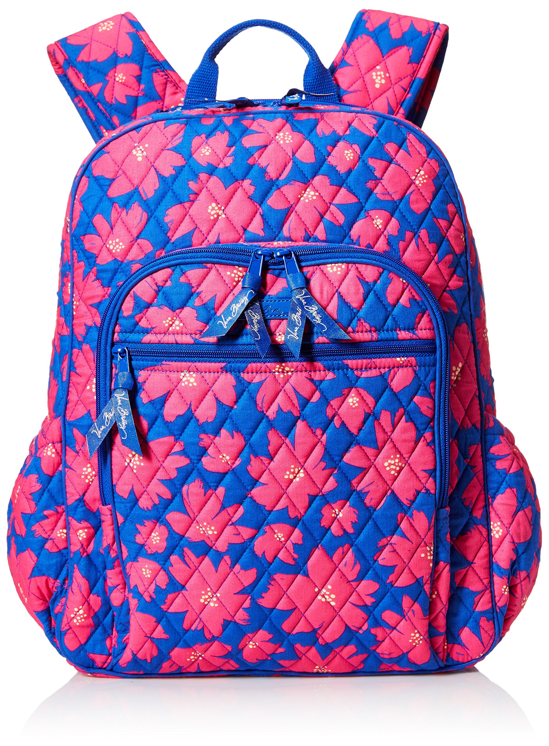 Women's Campus Tech Backpack, Signature Cotton, Art Poppies