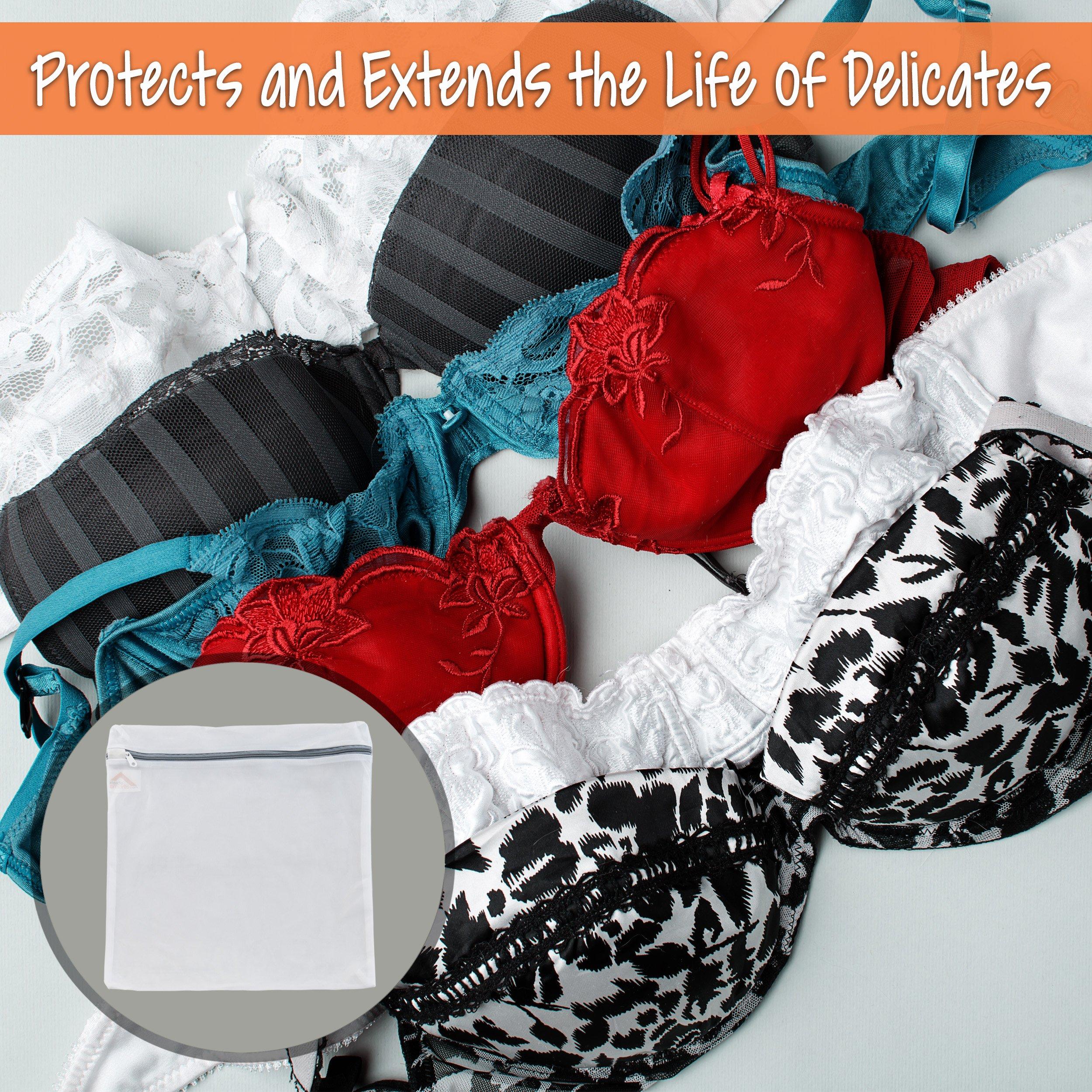 InsideSmarts Delicates Laundry Wash Bags, Set of 4 (2 Medium & 2 Large) by InsideSmarts (Image #5)