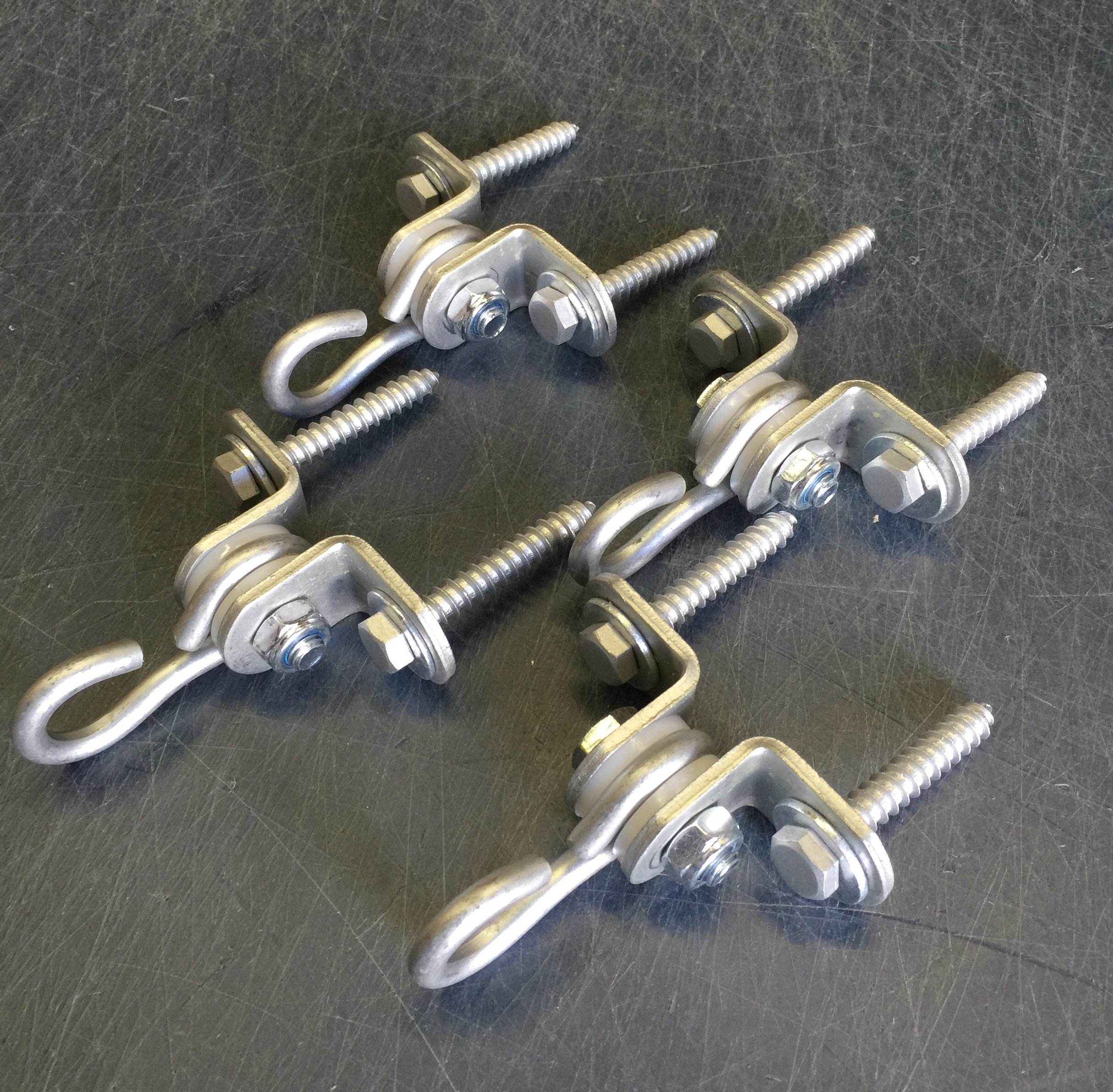 2 Hole Medium Duty Swing Hangers w/ Bolts