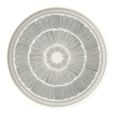 Royal Doulton ED Lines Charcoal Grey Serving Platter