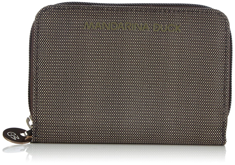 Mandarina Duck MD20 PORTAFOGLIO PIRITE - Cenicero portátil para mujer color Black talla 2x10x14 cm (B x H x T) 14216PN8651