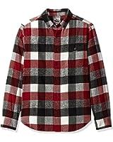 Woolrich Men's Organic Cotton Twisted Rich Flannel Shirt