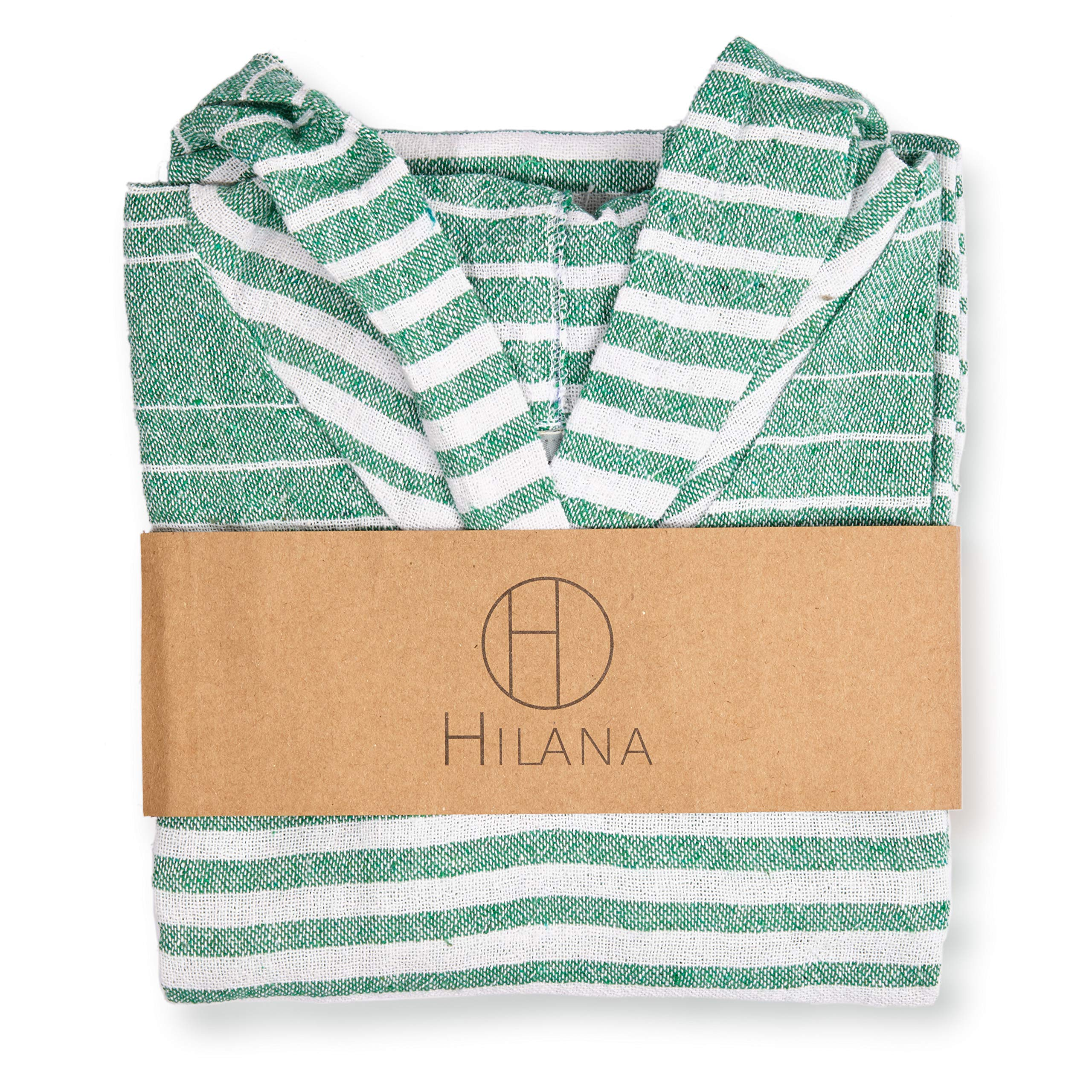 Ayvalik The Ultimate Eco-Friendly Hodded Beach/Pool / Bath Time Poncho for Children (Green) by HILANA (Image #1)