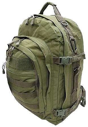 3b61b6867c Amazon.com  Explore 22-inch Tactical Backpack Black (OD Green)  Clothing
