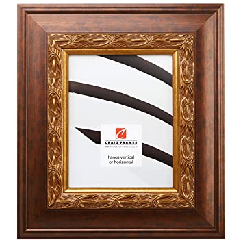 Amazoncom Craig Frames Gotham Ornate Gold And Bronze Picture