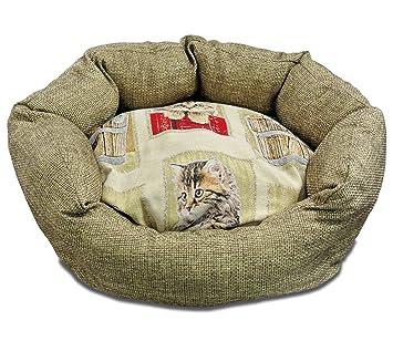 Baldiflex colchón Caseta Cama Cojín Suave para Perro y Gato Cloe con cojín Interior extraíble: Amazon.es: Productos para mascotas