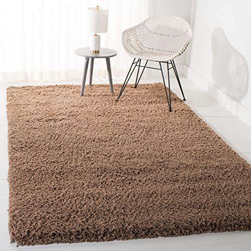 Safavieh Ultra Classic Shag Collection SG140D Handmade 2.25-inch Thick Area Rug