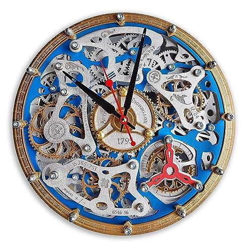 Amazon Com Automaton Tourbillon Handcrafted Moving Gears Wall Clock