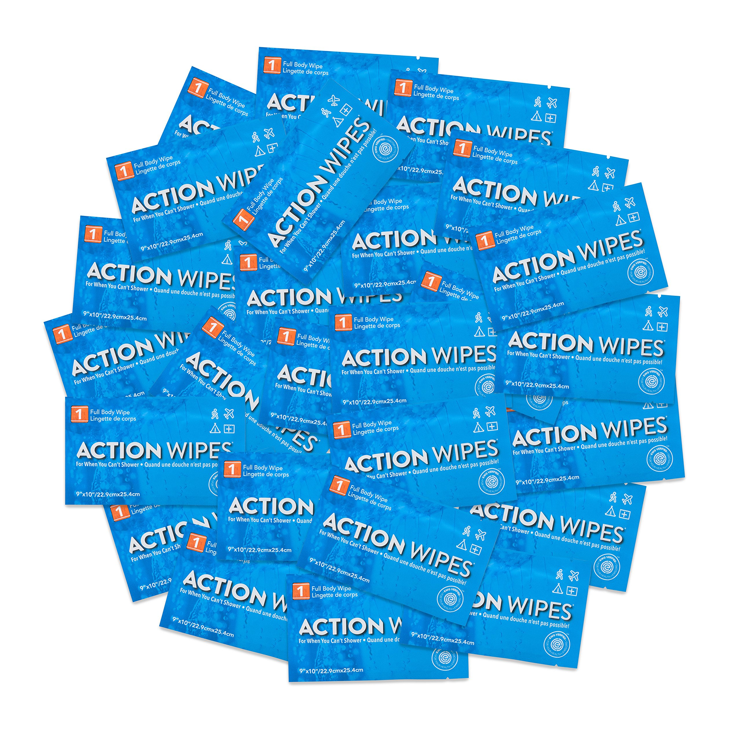 Life Elements Skin Cleansing Action Wipes - Pack of 25