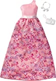 Barbie Fashions Complete Look - Peach One Shoulder Dress