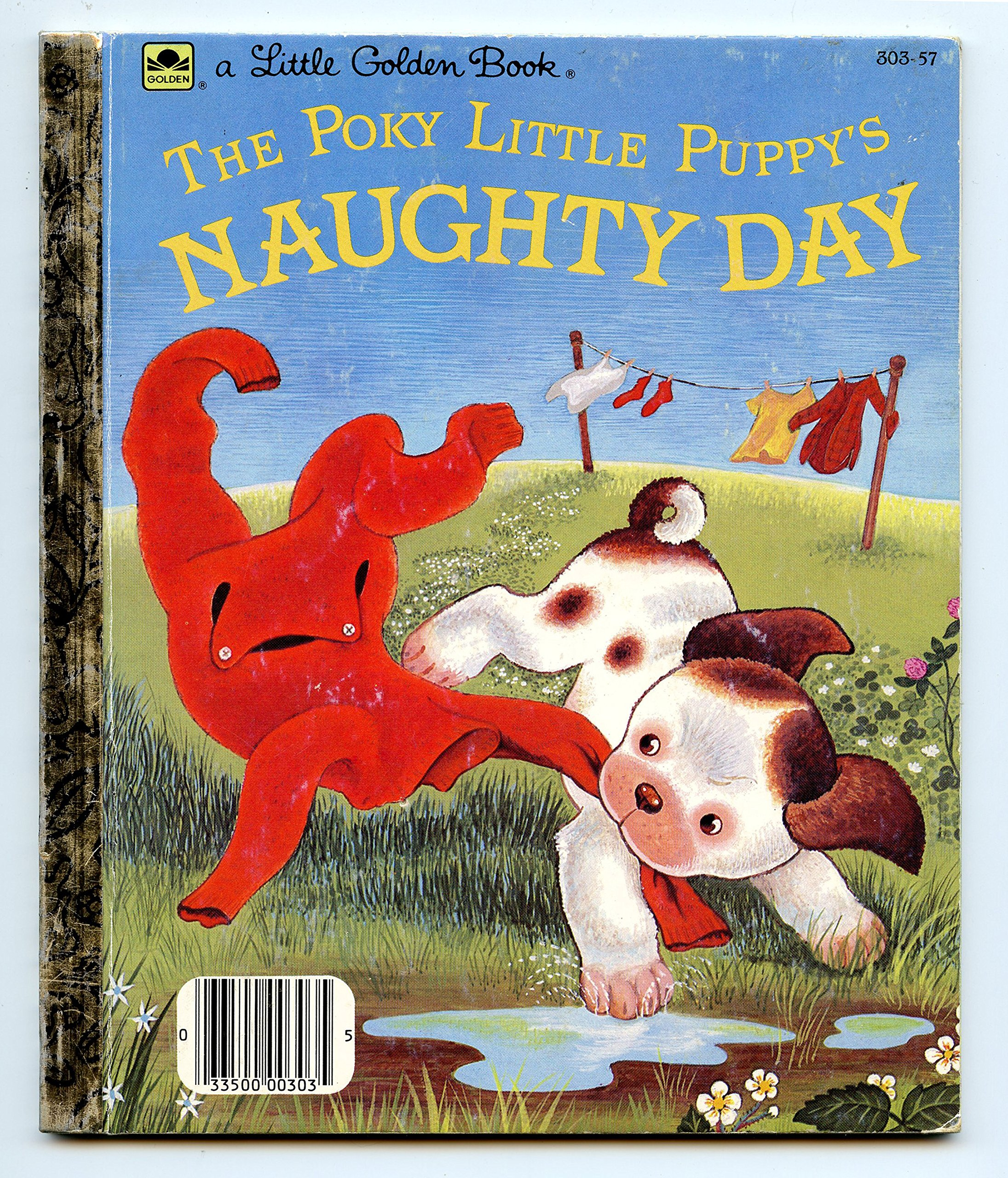 Iffythe Poky Little Puppys Naughty Day Jean Chandler Amazoncom