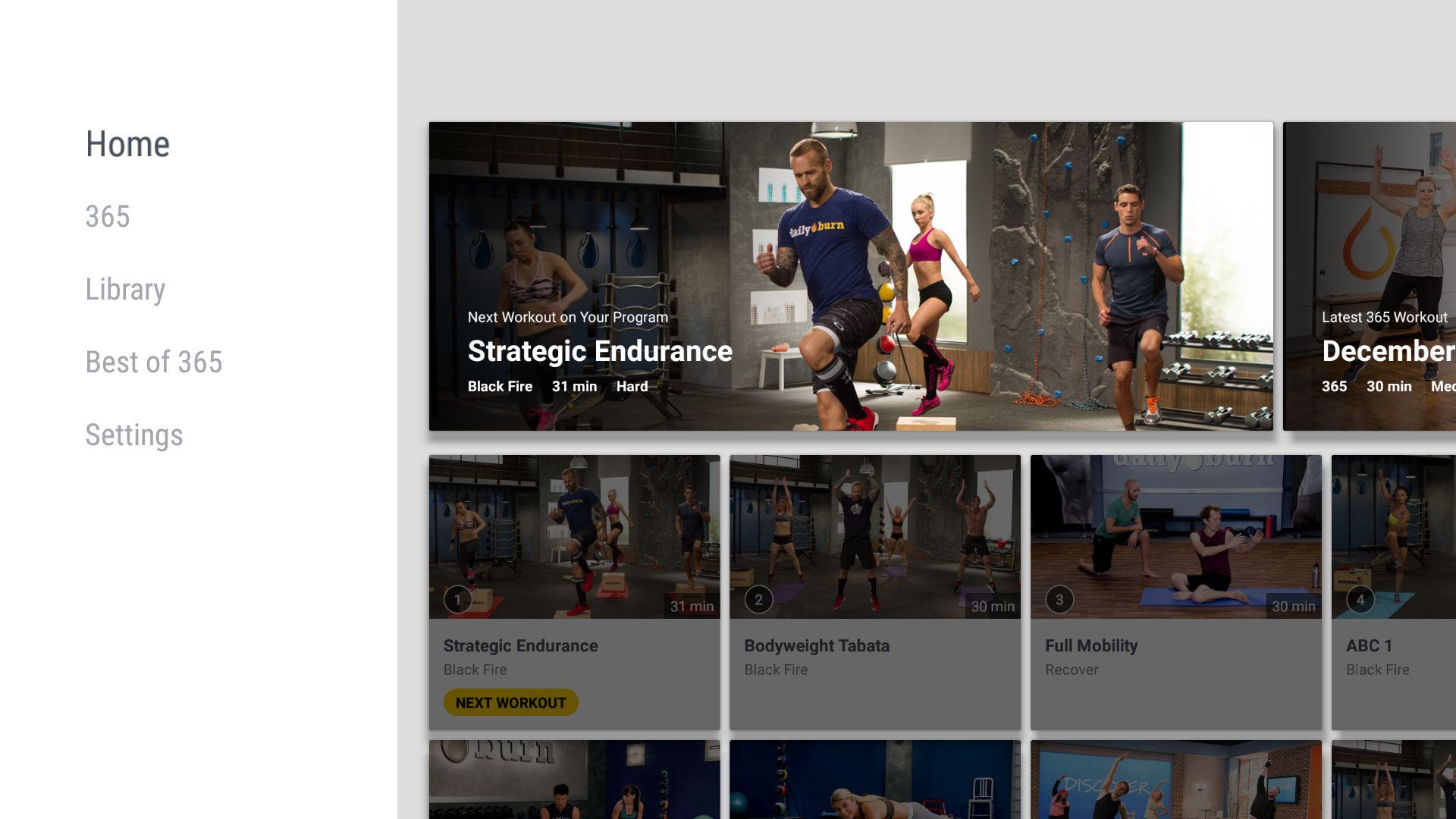 amazon com daily burn streaming workout videos appstore for 0 00