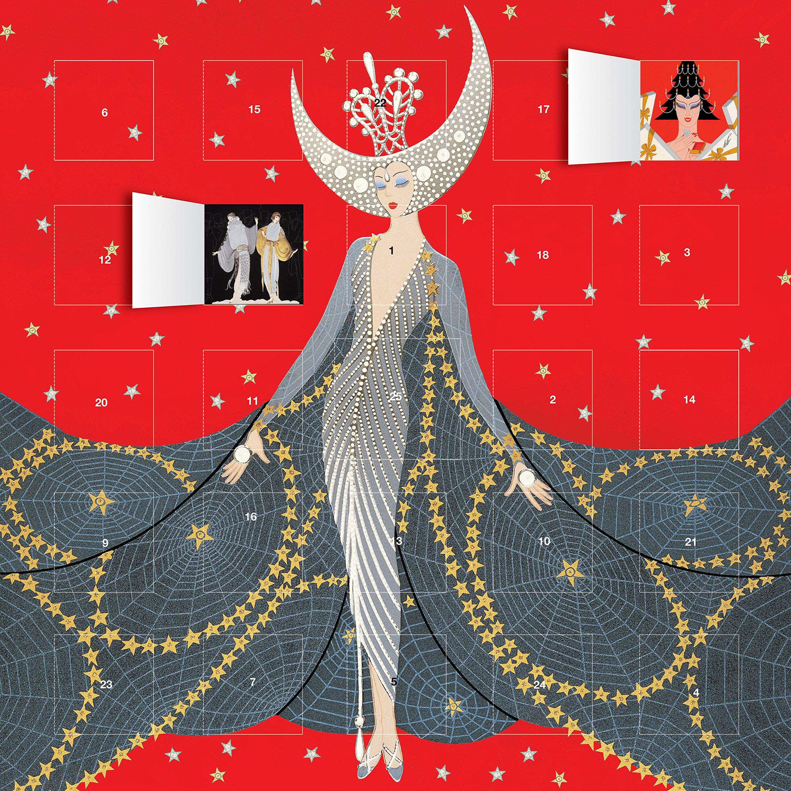 Read Online Erte Queen of the Night advent calendar pdf