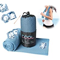 DsFiyeng Microfiber Double Layer Cooling Towel