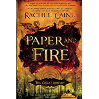 Paper and Fire (The Great Library Book 2) book cover