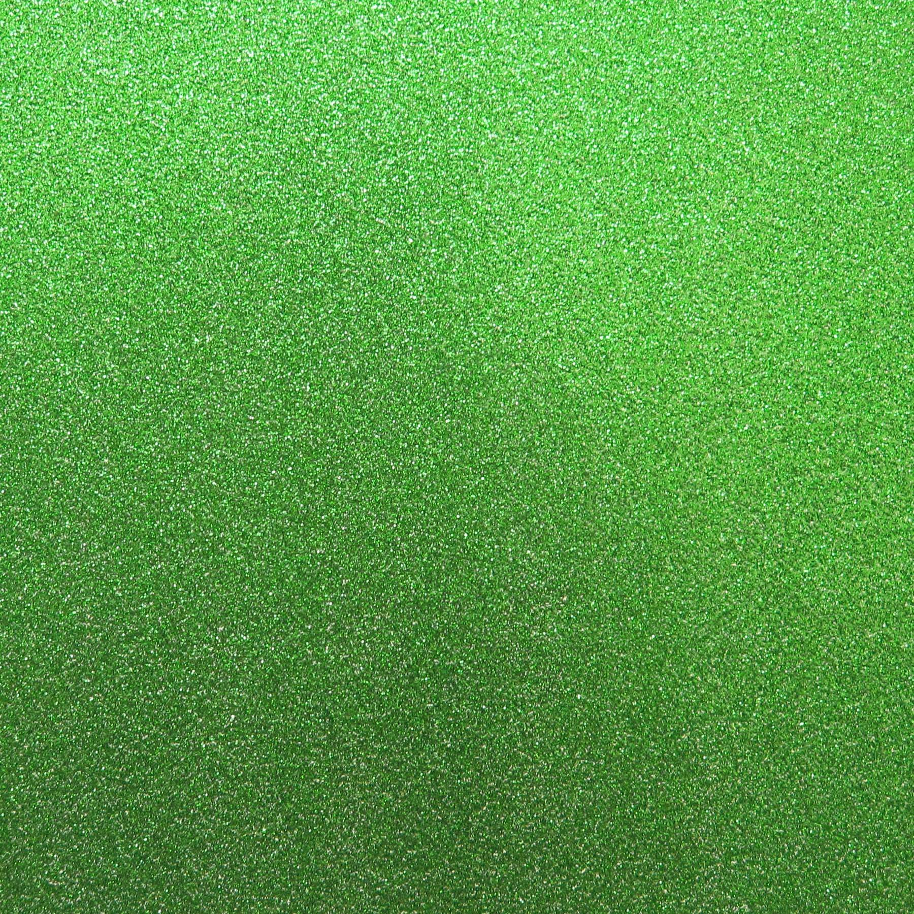 Best Creation 12-Inch by 12-Inch Glitter Cardstock, Light Green