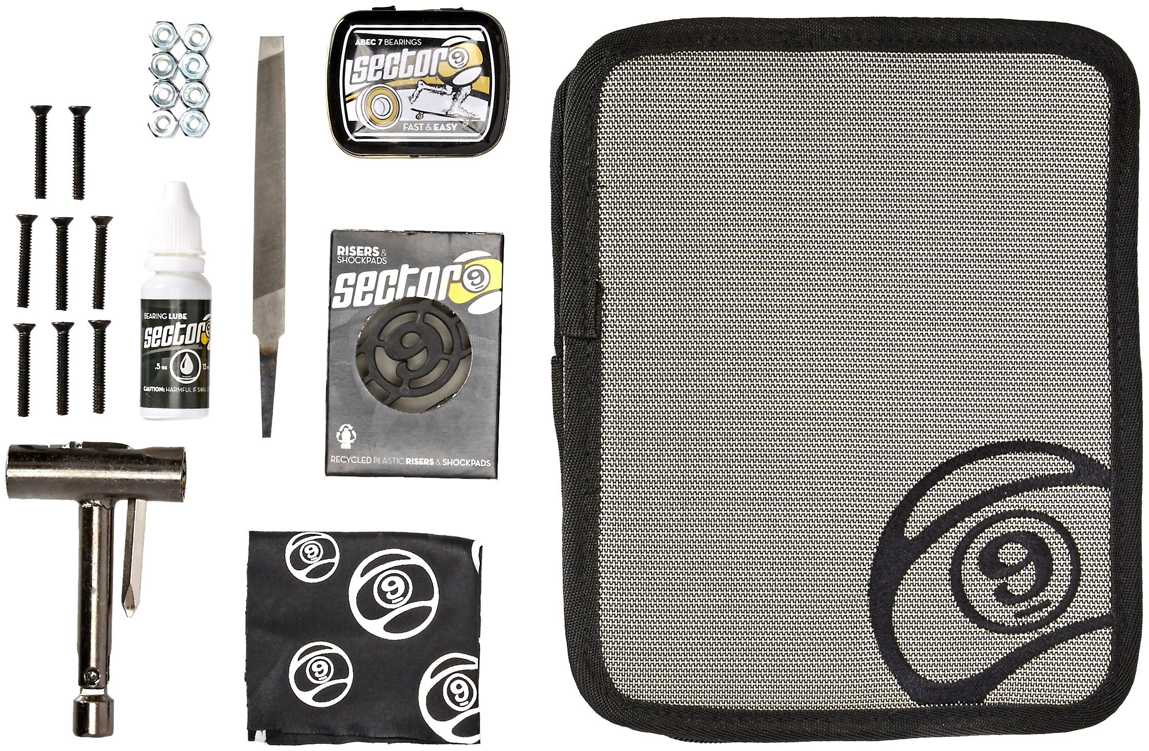 Sector 9 The Field Kit, Gold by Sector 9